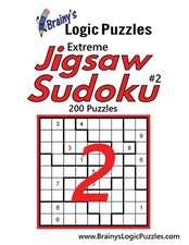 Brainy's Logic Puzzles Extreme Jigsaw Sudoku #2