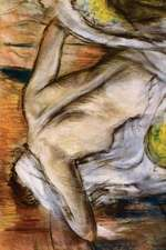 After Bathing Woman Drying Herself by Edgar Degas - 1892
