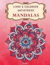 Livre a Colorier Antistress Mandalas