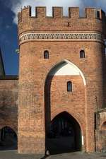 Ferry Gate in the Medieval Town of Torun Poland Journal