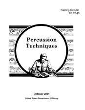Training Circular Tc 12-43 Percussion Techniques October 2001