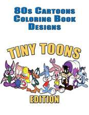 80s Cartoons Coloring Book Designs