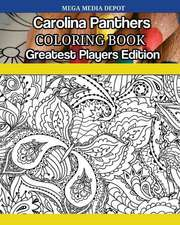 Carolina Panthers Coloring Book Greatest Players Edition