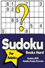 Sudoku Books Hard for Adults