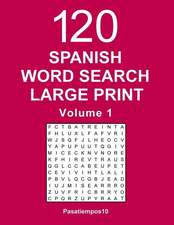 Spanish Word Search Large Print