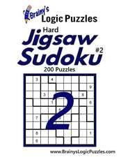 Brainy's Logic Puzzles Hard Jigsaw Sudoku #2