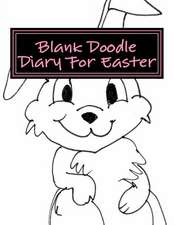Blank Doodle Diary for Easter
