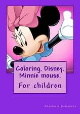 Coloring. Disney. Minnie Mouse