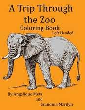 A Trip Through the Zoo Coloring Book