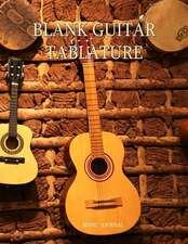 Blank Guitar Tablature