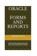 Oracle Forms and Reports