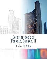 Coloring Book of Toronto, Canada. II