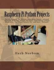 Raspberry Pi Python Projects