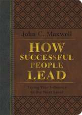 How Successful People Lead (Brown and gray LeatherLuxe)