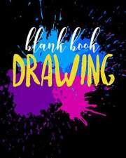 Blank Book Drawing