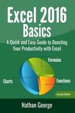 Excel 2016 Basics