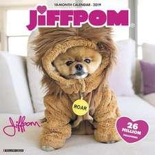 2019 Jiff the Pomeranian Wall Calendar (Dog Breed Calendar)