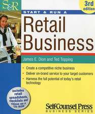 Start and Run a Retail Business [With CDROM]:  Get a Grip on Your Business Numbers