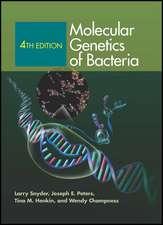Molecular Genetics of Bacteria