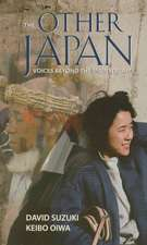 Other Japan:  Voices Beyond the Mainstream