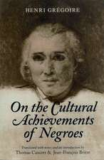 On the Cultural Achievements of Negroes