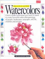 How to Draw and Paint Watercolors:  Chinese Brush