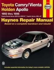 Toyota Camry & Vienta And Holden Apollo (93 - 96)