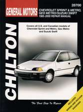Chevrolet Metro/Sprint/Swift, 1985-00