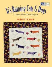 "It's Raining Cats and Dogs:  Paper-Pieced Quilts for Pet Lovers ""Print on Demand Edition"""