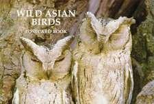 Wild Asian Birds Postcard Book