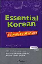 Essential Korean For Business Use (with Cd)