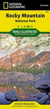 Rocky Mountain National Park: Trails Illustrated National Parks