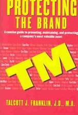 Protecting The Brand: A Concise Guide to Promoting, Maintaining, and Protecting a Company's Most Valuable Asset