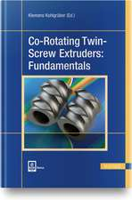 Co-Rotating Twin-Screw Extruders: Fundamentals