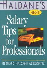 Haldane's Best Salary Tips for Professionals