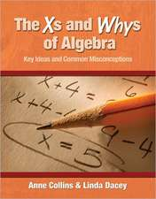 The Xs and Whys of Algebra:  Key Ideas and Common Misconceptions