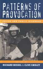 Patterns of Provocation:  Police and Public Disorde