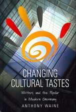 Changing Cultural Tastes