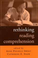 Rethinking Reading Comprehension