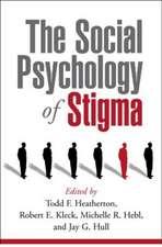 The Social Psychology of Stigma