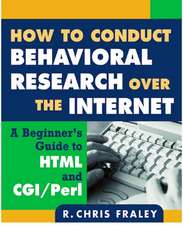 HT CONDUCT BEHAVIORAL RESEARCH