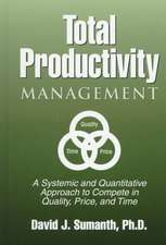 Total Productivity Management (Tpmgt)
