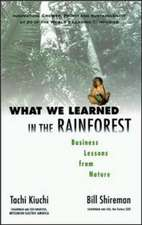 WHAT WE LEARNED IN THE RAINFOR