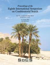 Proceedings of the Eighth International Symposium on Combinatorial Search (SoCS-2015)