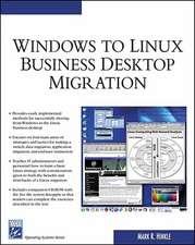 Hinkle, M: Windows to Linux Business Desktop Migration