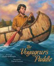 The Voyageurs Paddle
