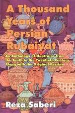 Thousand Years of Personal Rubaiyat