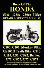 Honda Motorcycle Manual:  50cc, 125cc, 250cc & 305cc.