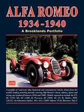 Alfa Romeo 1934-1940 Road Test Portfolio