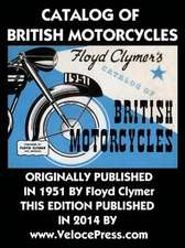 Catalog of British Motorcycles